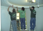 installation-of-custom-dome-ceiling